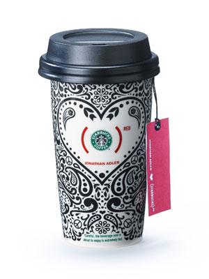 Limited edition Jonathan Adler Starbucks mug.