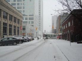 A white Christmas in Ottawa.