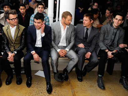Loving all the adorable, fashionable men!