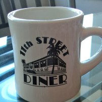 Favourite retro diner in South Beach, brought back via my lovely mother.