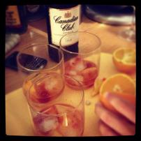 An Old Fashioned kind of night.