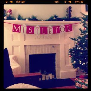 Festive DIY decorations.