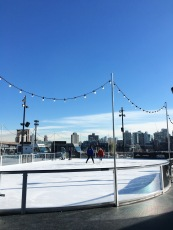 Most magical rooftop skating rink
