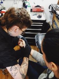 Spontaneous tattoos