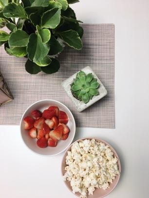 Easy, simple snacks.